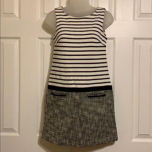 Loft striped sheath dress 00P
